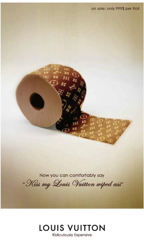 8dbb17bba0a Featuring over other LOUIS VUITTON items too! Designer Creates Ad Parodies  Of Famous Brands - DesignTAXI.com