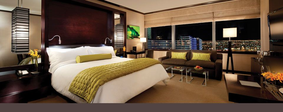 Las Vegas Nv Vdara Hotel Spa Is An All Suite Non