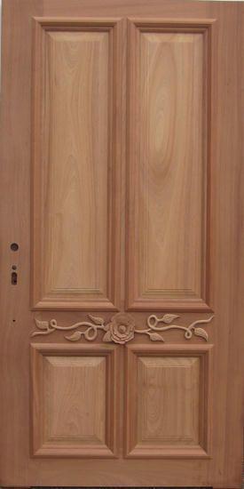 Bois Extérieur Immobilière Entrée Avant Style Porte Dbyd-1418