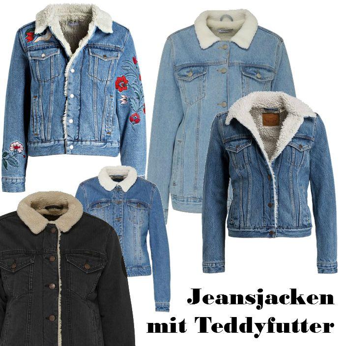 Trend gefütterte Jeansjacken