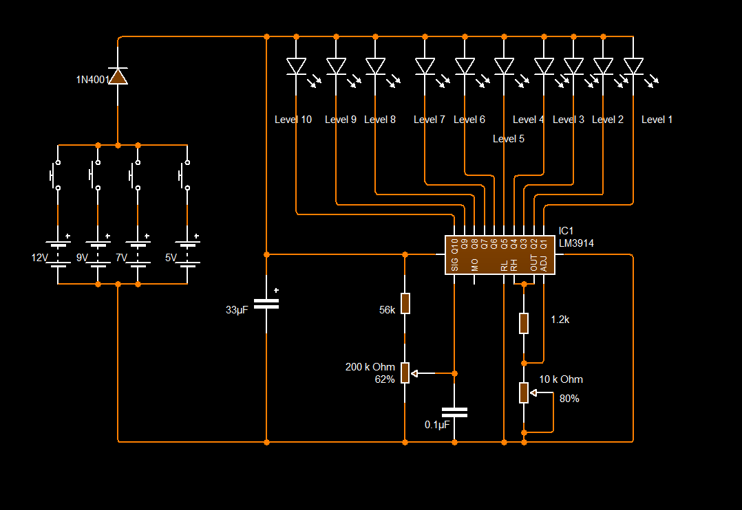 Electronic Band Stop Filter Notch Resonant Circuit 555circuit
