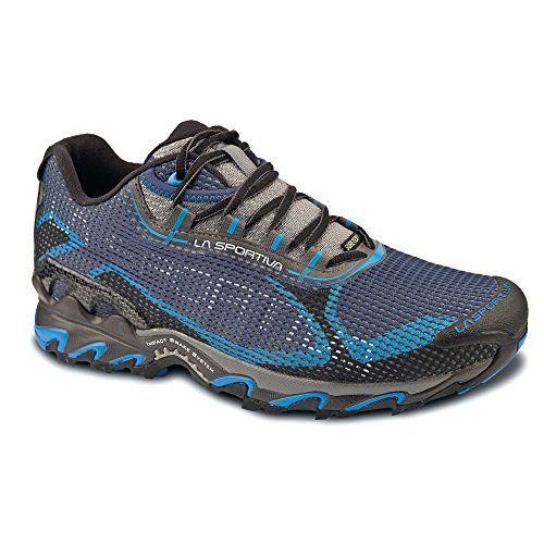 La Sportiva Wildcat 20 GTX Mountain Running Shoe Mens BlackBlue 38 -- Visit  the image