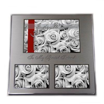 018894 - Metal Collage Frame - 3 openings | Things Engraved ™