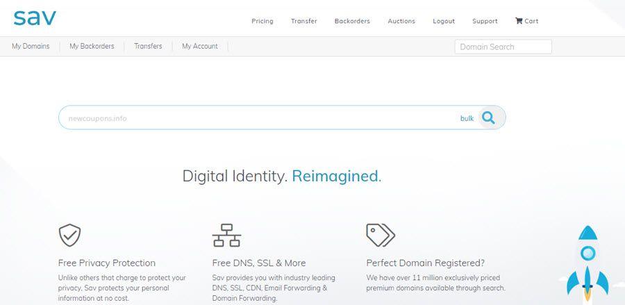 4 95 Co Registrations At Sav Com Free Privacy Ssl Domain Registration Ssl Registration