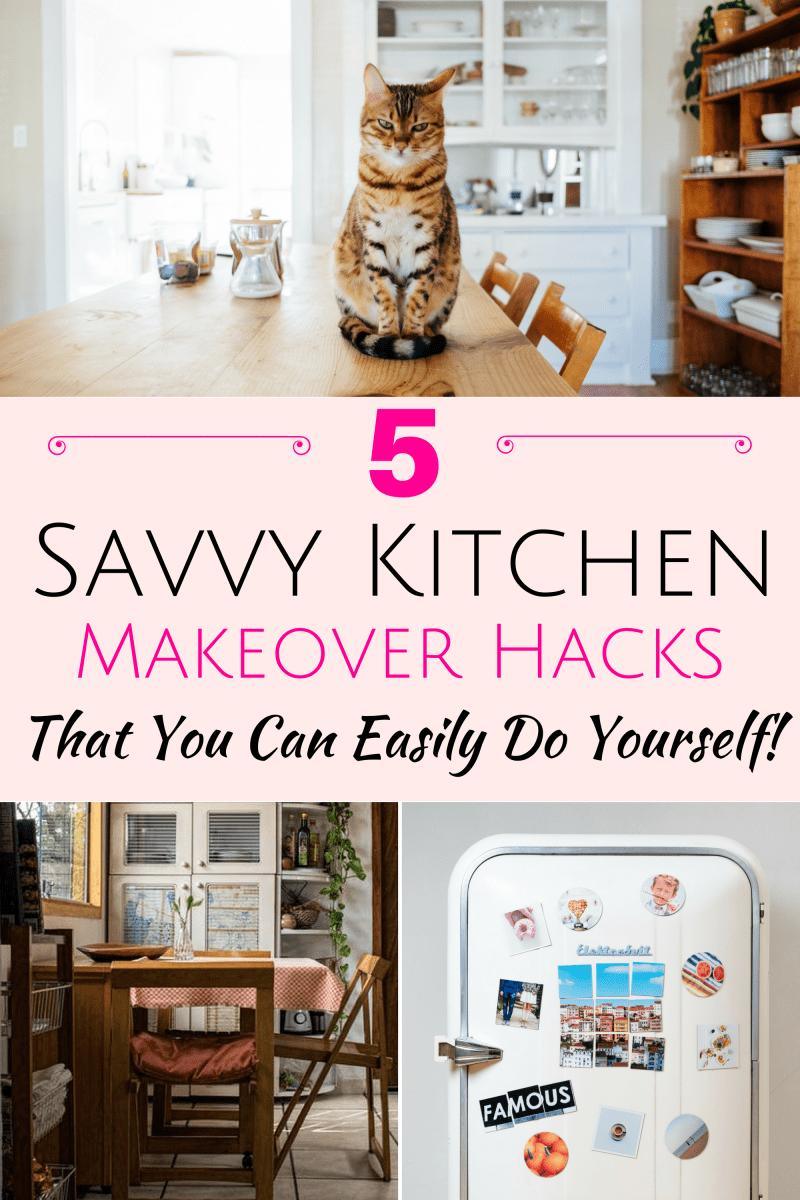 5 Savvy Kitchen Makeover Hacks That You Can Easily Do Yourself