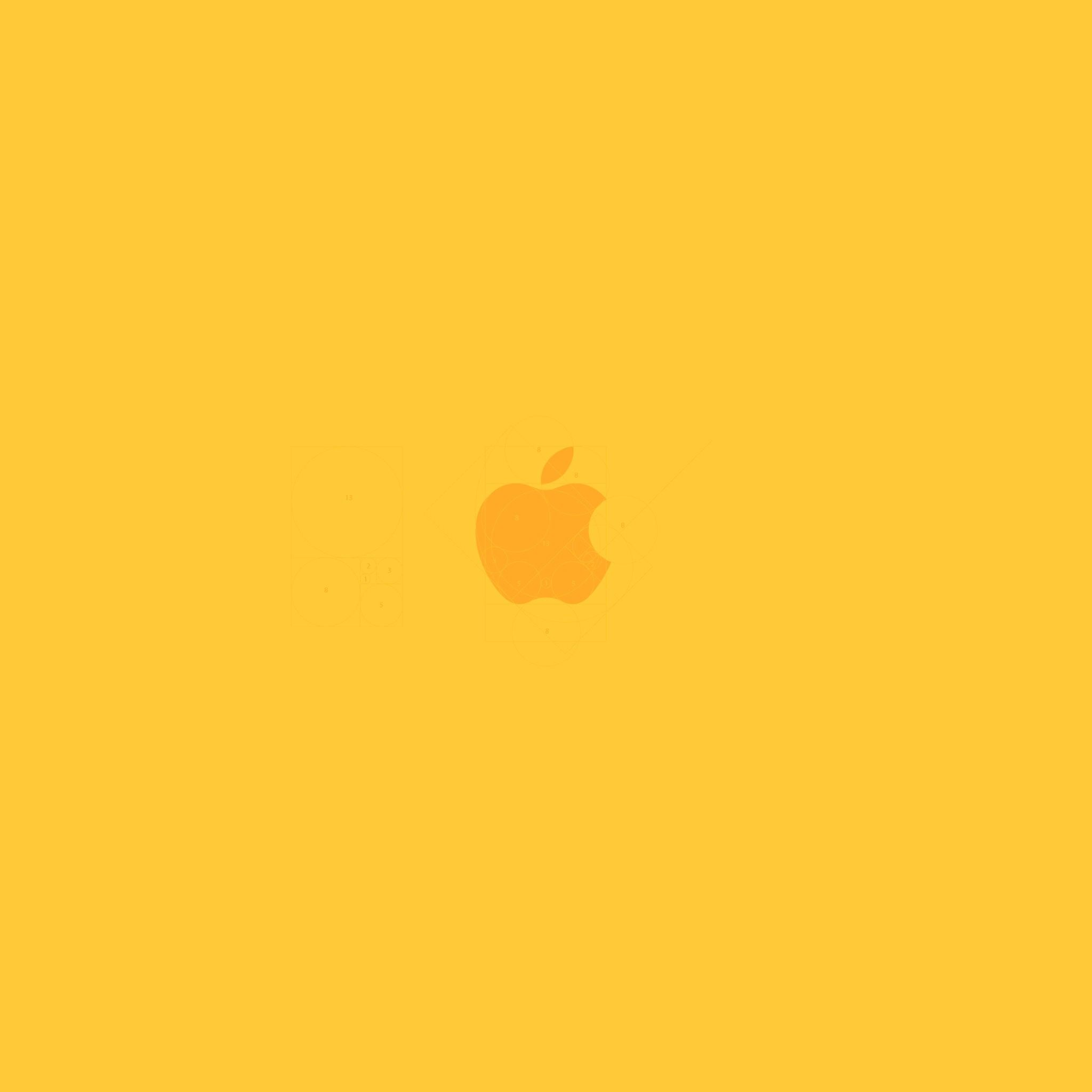 Yellow Apple. Tap to see more nice iPad wallpapers