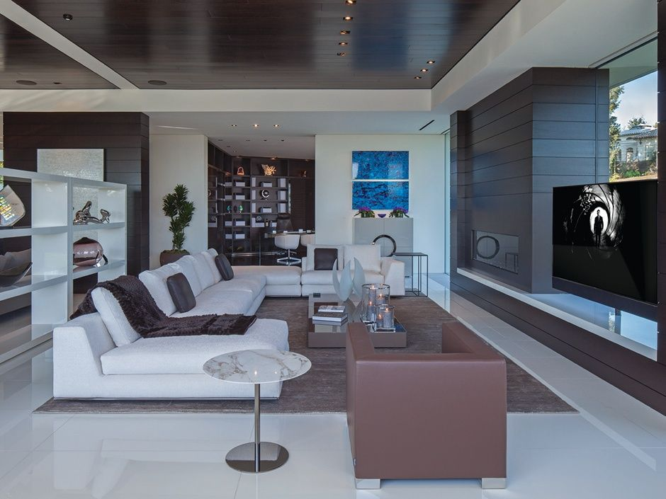 Great Modern Living Room Modern Mansion Beverly Hills Mansion Beverly Hills Houses