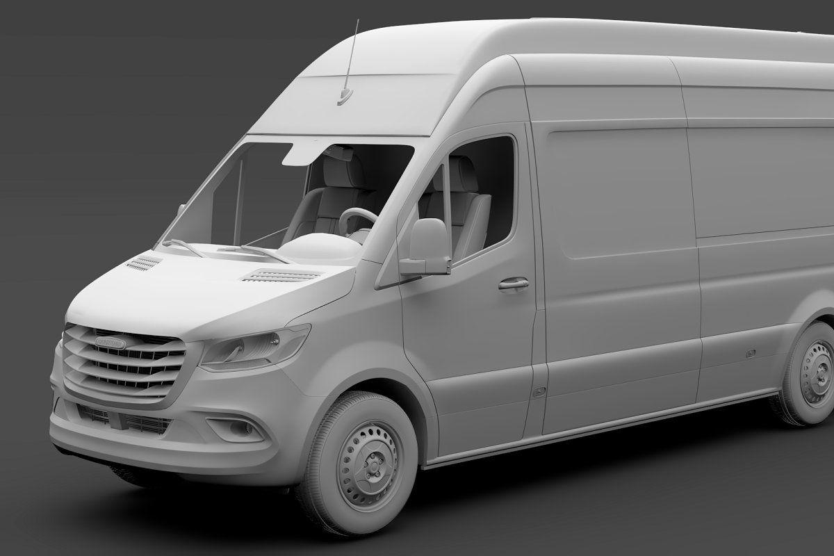 Freightliner Sprinter Panel Van L3h3 Mercedes Benz Vans Sprinter