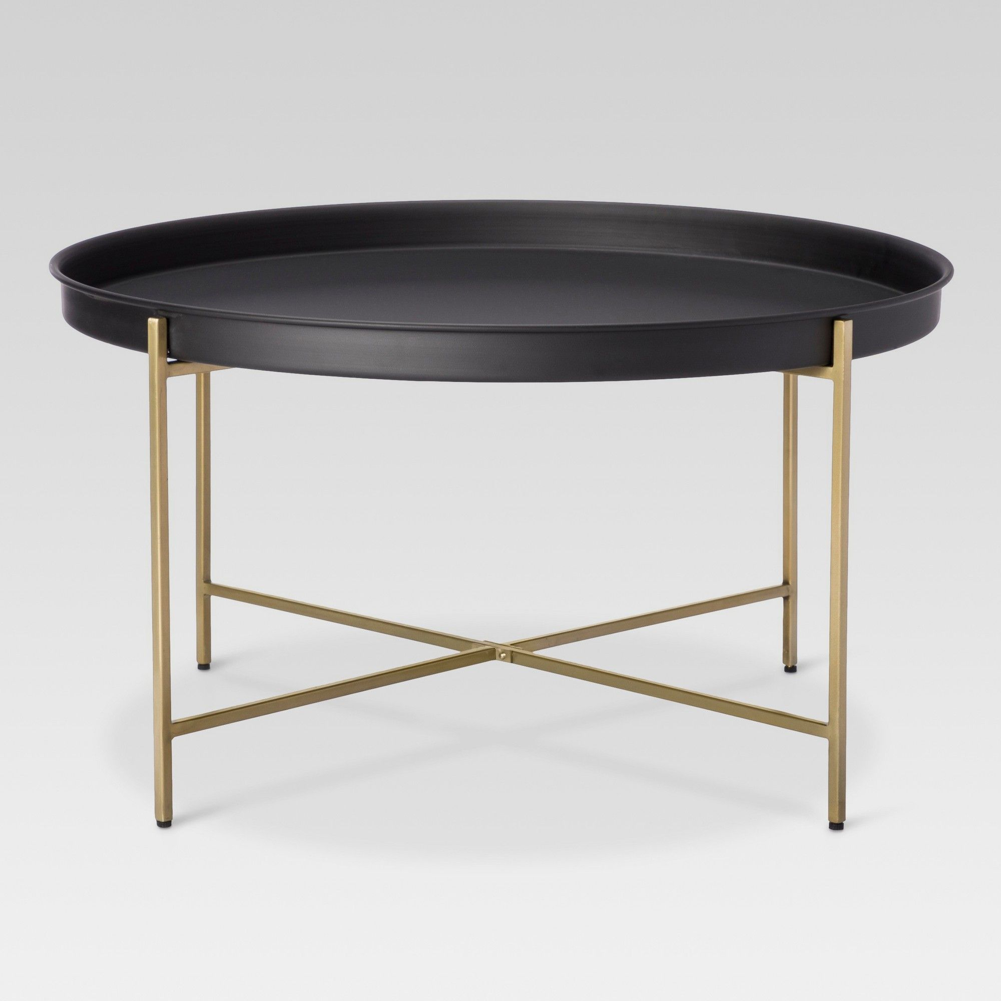 Br Tray Coffee Table Threshold Black