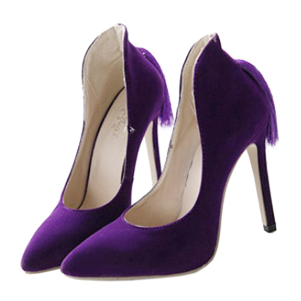 46 Gorgeous Purple Wedding Shoes For Brides Wedding Shoes