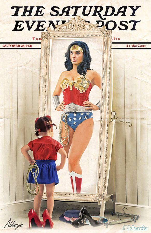 Wonder Woman by Al Abbazia