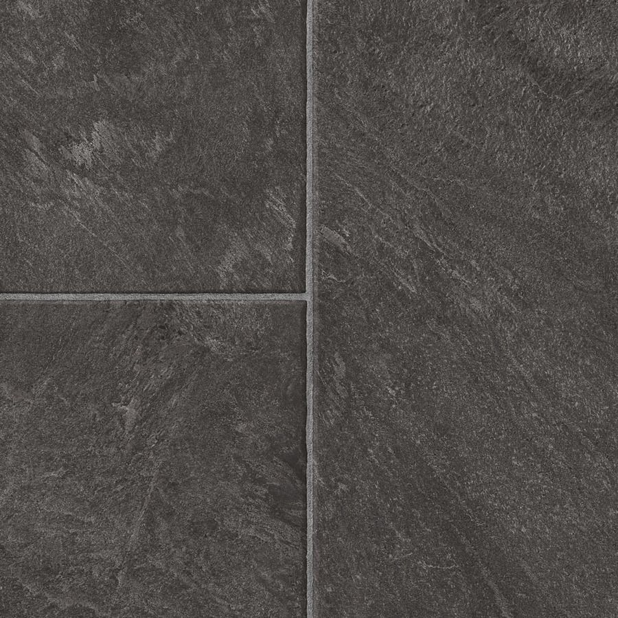 Style selections 1283 in w x 427 ft l glentanner slate embossed style selections w x l glentanner slate embossed tile look laminate flooring dailygadgetfo Choice Image