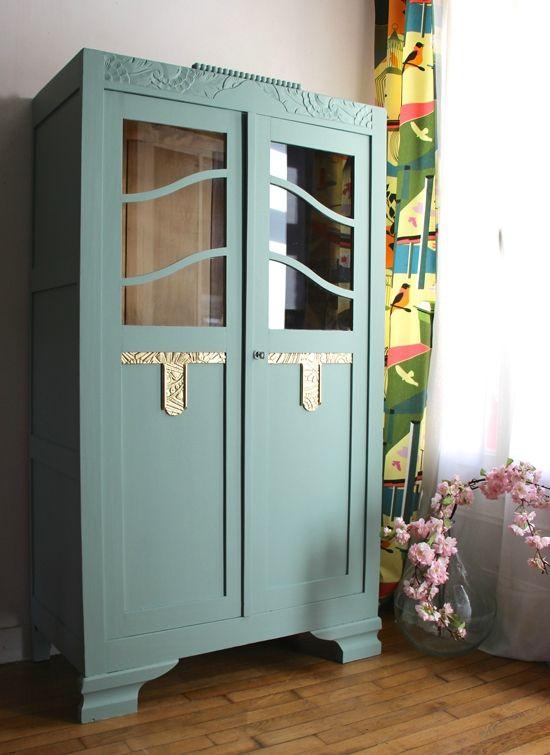 Armoire-ancienne-bijou | furniture | Pinterest | Armoires, Furniture ...