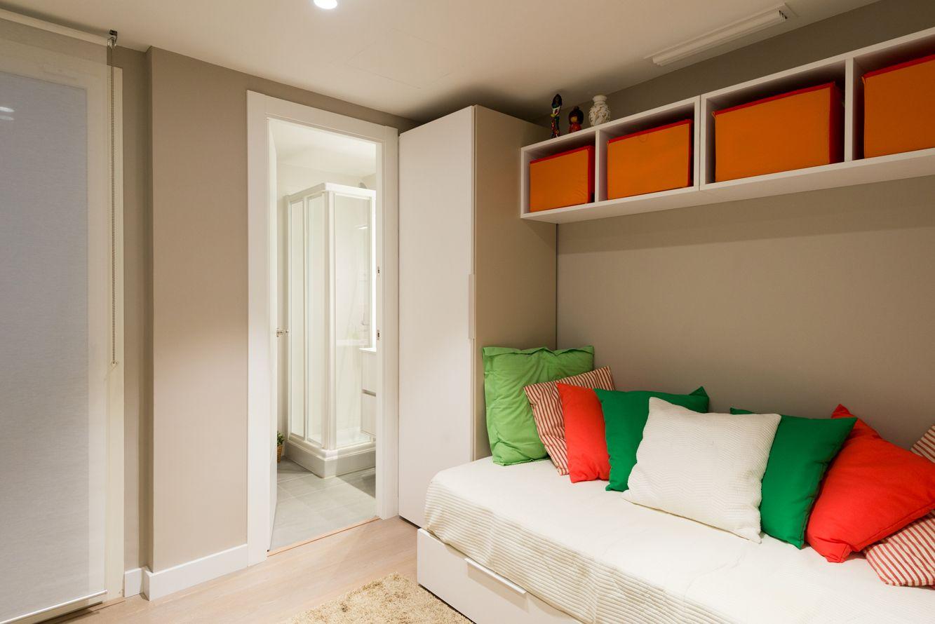 Habitacion De Servicio Bano Privado Piso Moderna Dormitorios