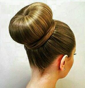 Mks Big Bun Hair Bun Hairstyles Donut Bun Hairstyles