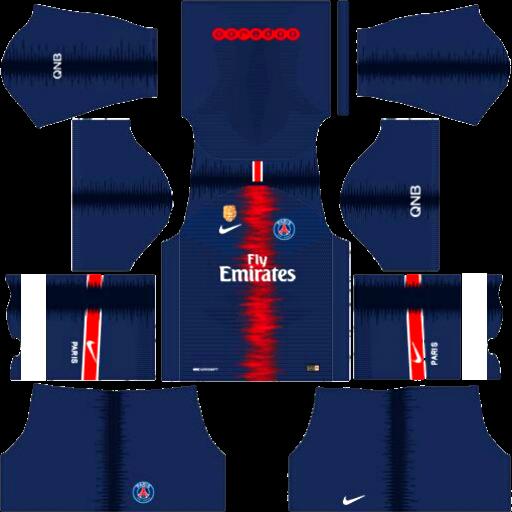 Pin De Ade Firmansyah Em Dls Kits De Futebol Psg Futebol Clube Camisas De Futebol