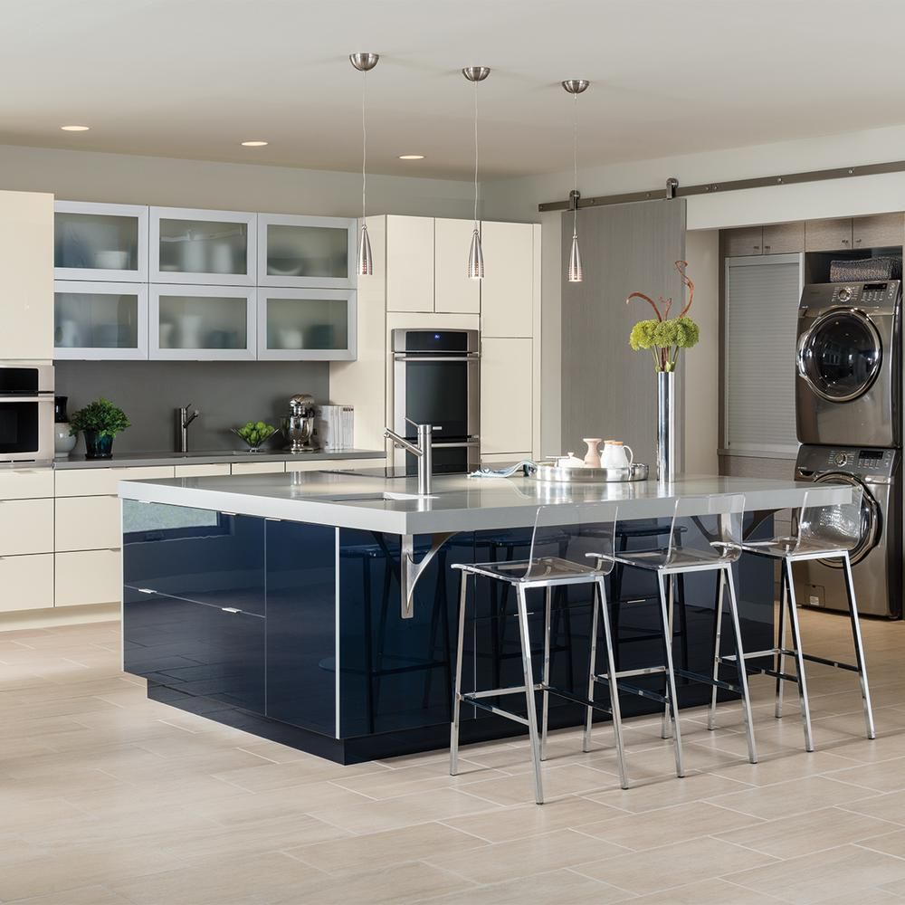 thomasville nouveau custom kitchen cabinets shown in