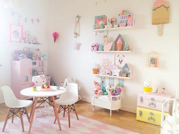 Habitacion En Colores Pastel Para Nina No Te La Pierdas Decoracion Bebes Decorar Habitacion Infantil Decoracion Habitacion Nino Decoracion Dormitorios