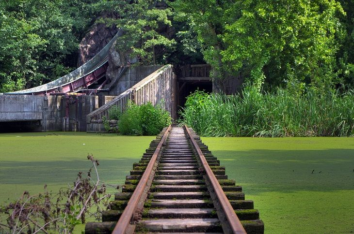 Kulturpark Plänterwald, better known as Spreepark, is