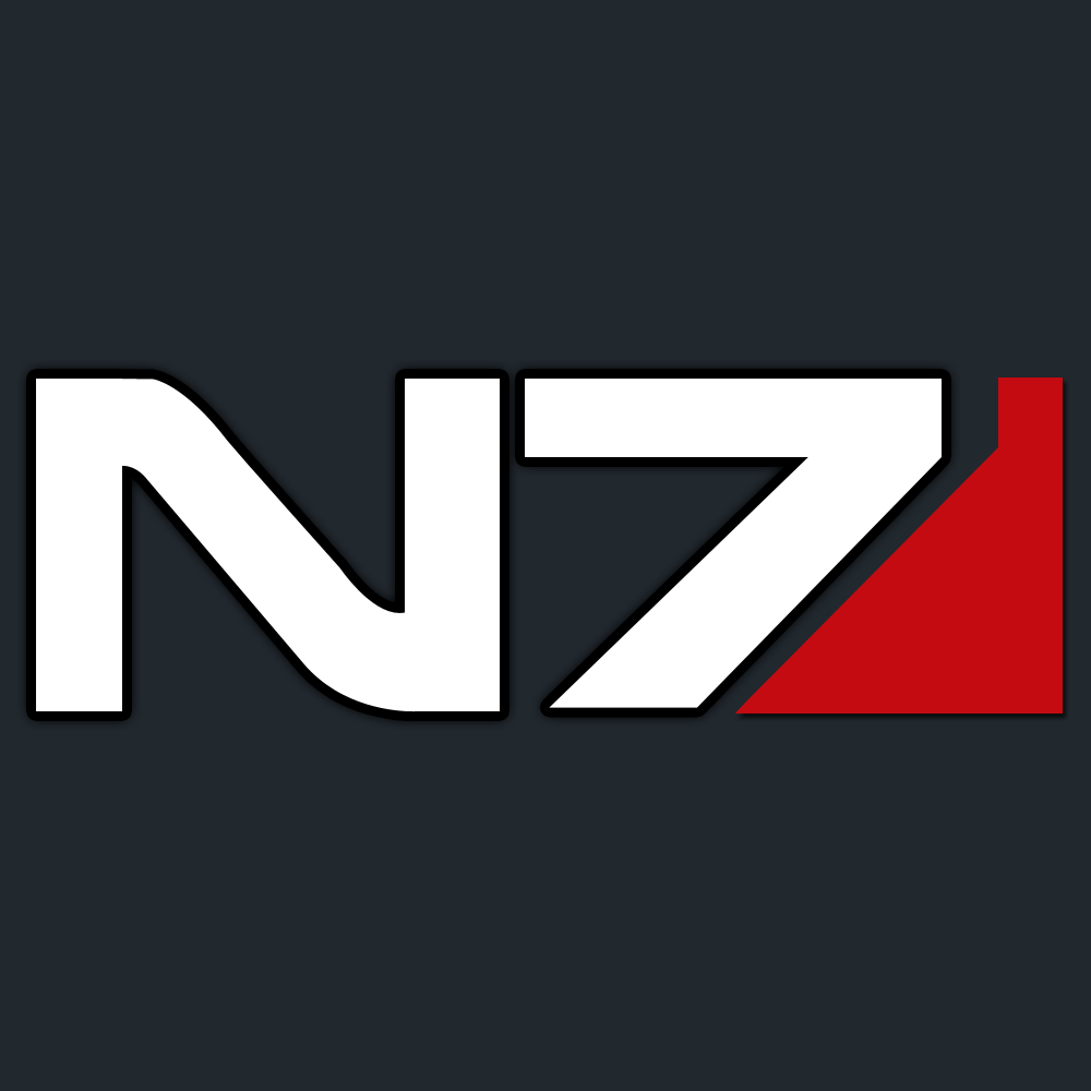 Mass Effect N7 Logo Normal By Lincer556 Png 1000 1000