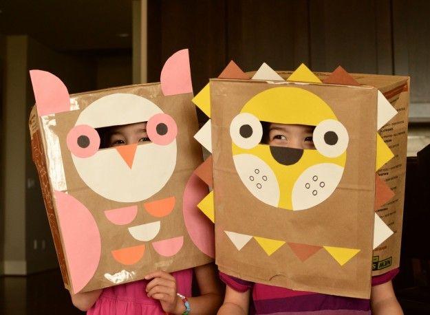 Maschere bambini ~ Maschere d i y ispirazioni costumi e maschere