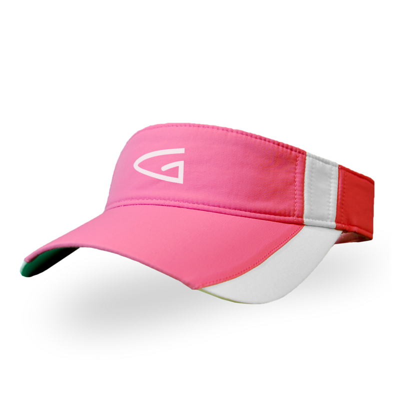 Alex - Youth Pink Golf Visor  1effc0a8118