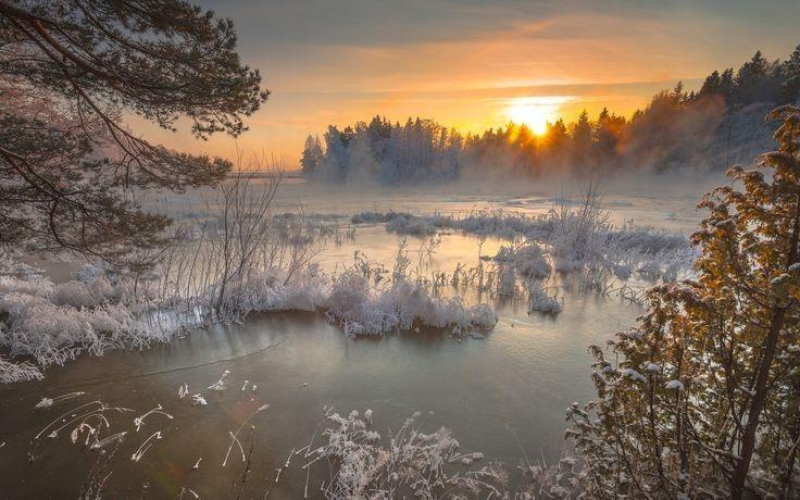 Пейзажи от пользователя Ольга Файзуллина на доске «зимний ...