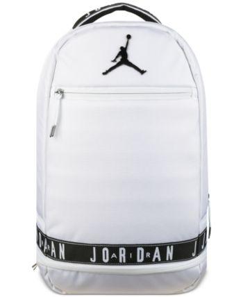 Jordan Big Boys Skyline Air Jordan Backpack - White