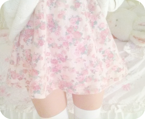 "milk-faun: "" hai guys ! i just made a review on this super cute skirt i bought from romwe on my blogspot if you'd like to check it out"