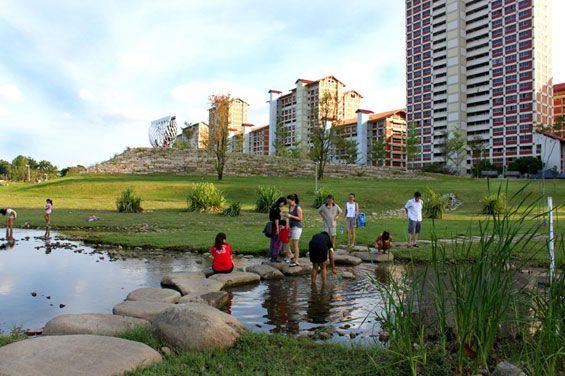 Kallang River Bishan Park Singapore Atelier Dreiseitl Landscape Architect World Architecture Festival Riverside Park