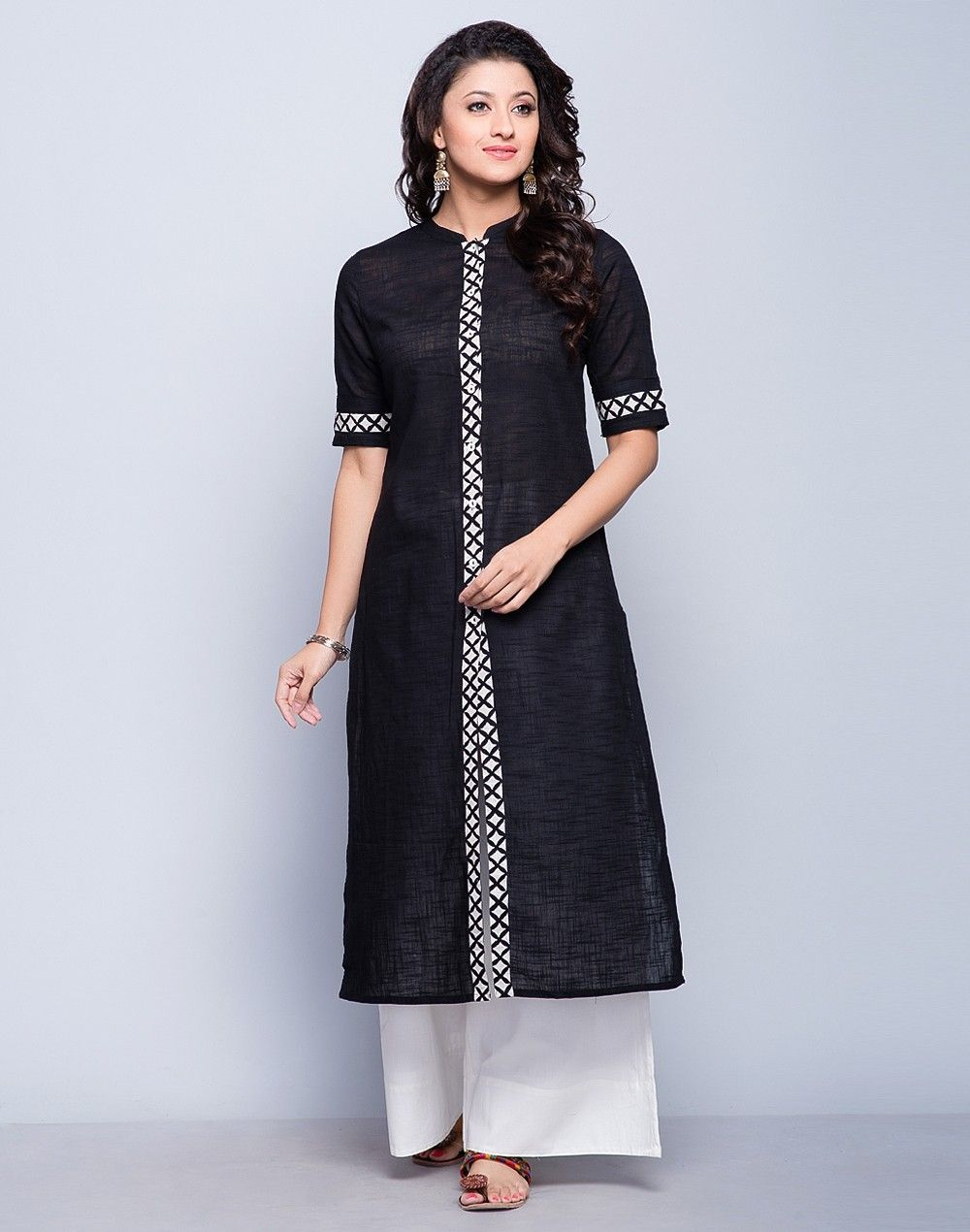 Simple yet graceful this kurta is perfect clothing for special