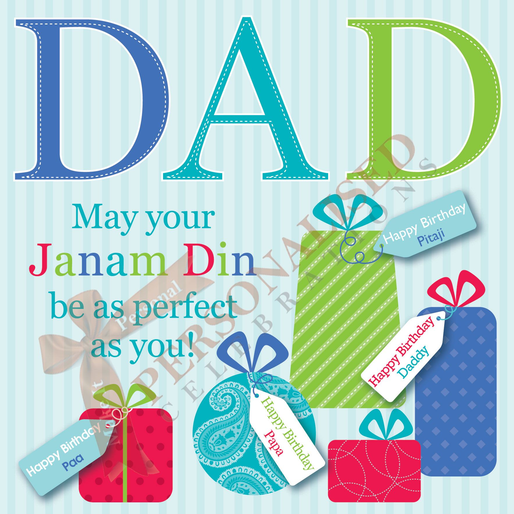 Dad Card Buy this card online only £1 99 at