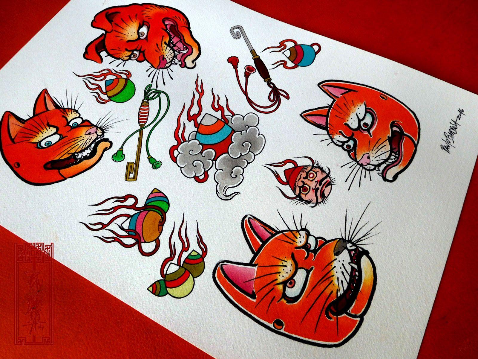 Tattoo Flash Art By Paulo Barbosa Ariuken Art On Facebook