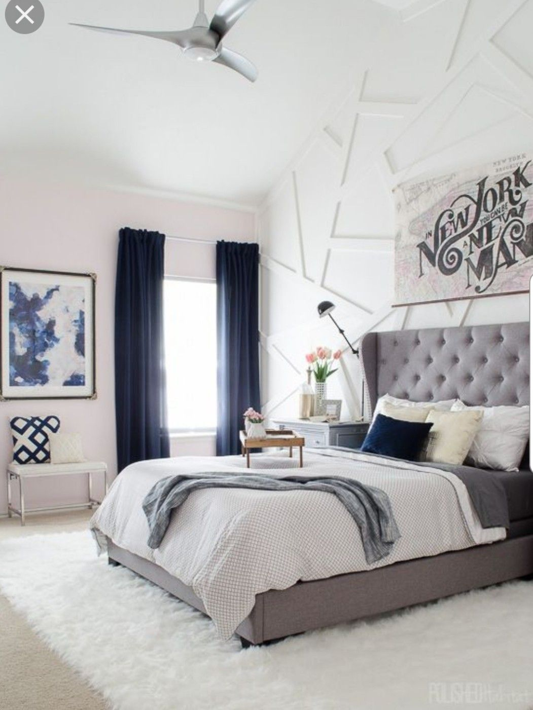 Pin by Kappy Ross on Navy Bedroom Master bedrooms decor