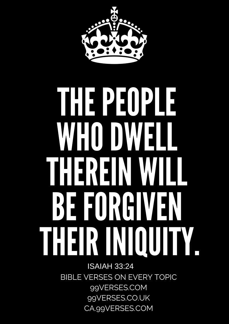 Forgiveness verses bible verse of the day verse of the week bible