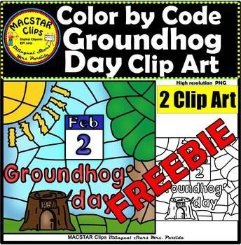 Color by Code Groundhog Day Clipart Digital Images Clip Arts FREEBIE #clipartfreebies FREEBIE Groundhog Day Color by Code Clip Art MACSTAR Clips Clip Arts2 images in totalThis set includes: 1 Color Clip Art. As shown in the preview.1Black and white Clip Art. These are pre-made Clip Arts (graphics) that will make your life easier when creating your own Color By Codes activities ... #clipartfreebies Color by Code Groundhog Day Clipart Digital Images Clip Arts FREEBIE #clipartfreebies FREEBIE Groun #clipartfreebies
