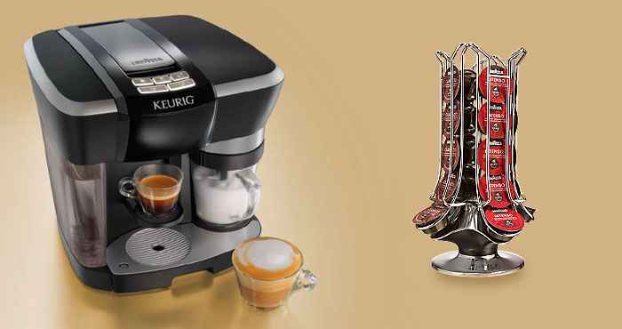 The Keurig Rivo Cappuccino and Latte System Review (2017) http://coffeebeangrinderplus.com/keurig-rivo-review/  #coffee #keurig #rivo #cappuccino #cafe #espresso #tips