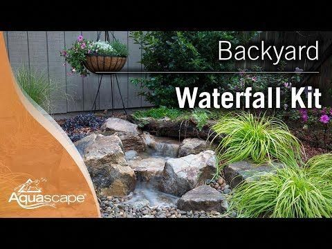 Aquascape Backyard Landscape Waterfall Fountain Kit You