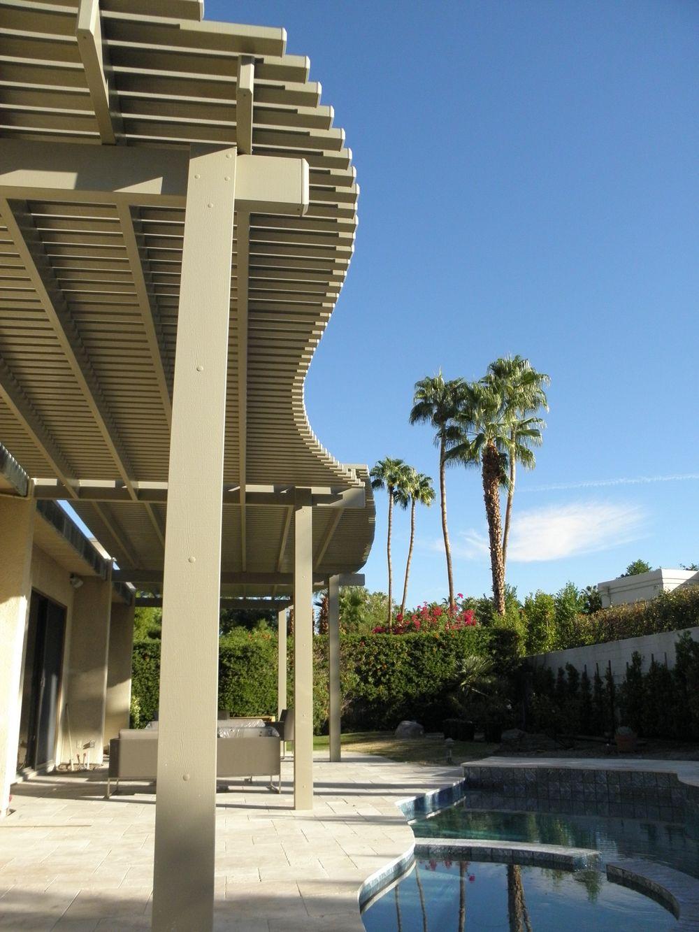 High Quality Contoured Lattice Patio Cover, Palm Springs, CA, 92262