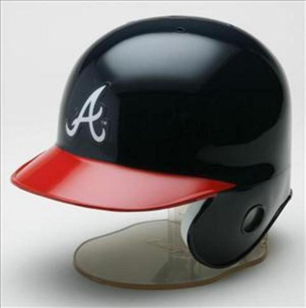 Riddell Brand - NOT Rawlings.  Riddell MLB Team Mini-Helmet - Atlanta Braves