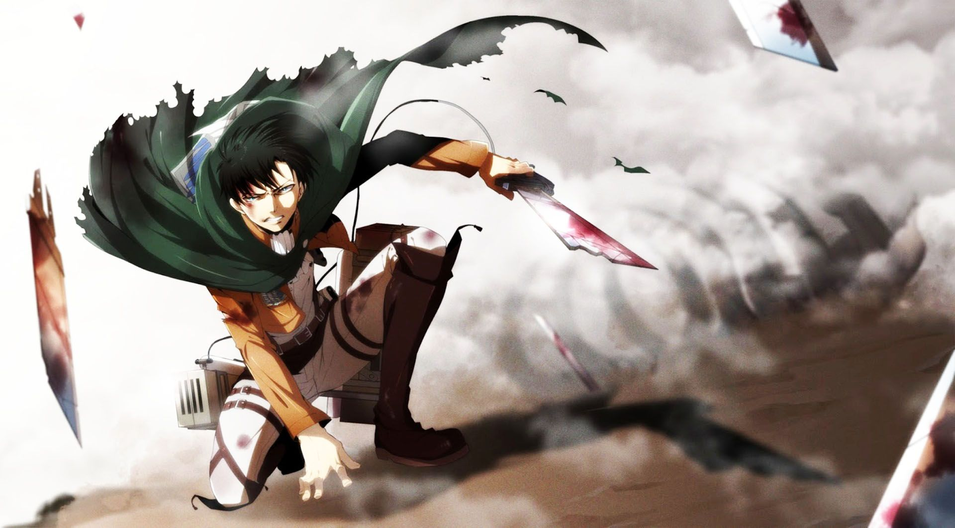 shingeki no kyojin rivaille levi wallpaper anime