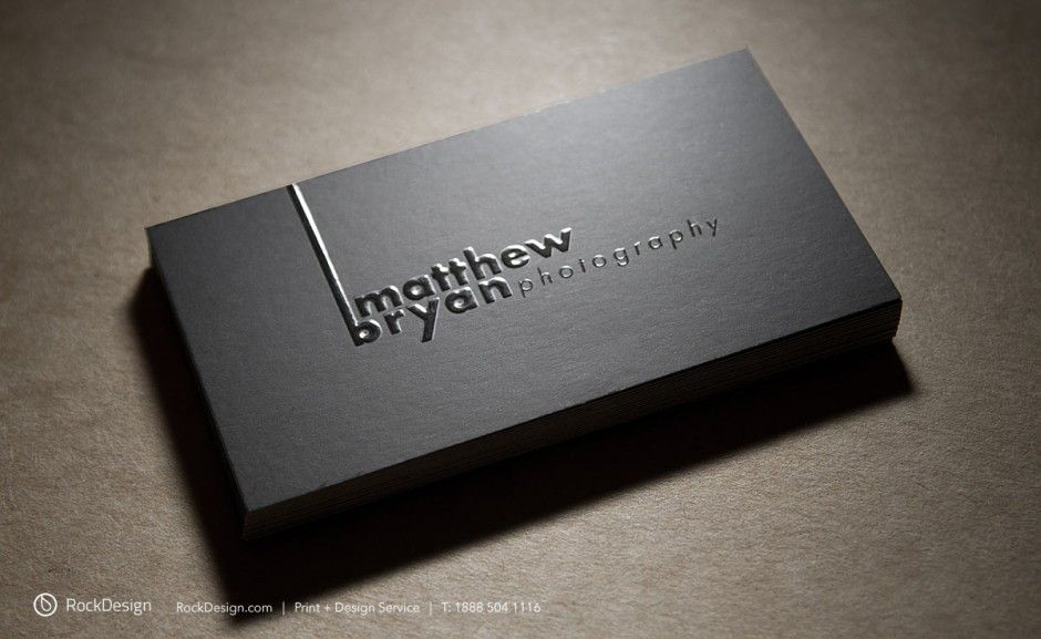 RockDesign.com | Style Business Cards | Emboss Business Cards ...