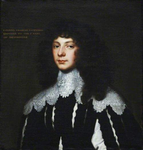 Colonel Lord Charles Cavendish (1620–1643) By Anthony van Dyck