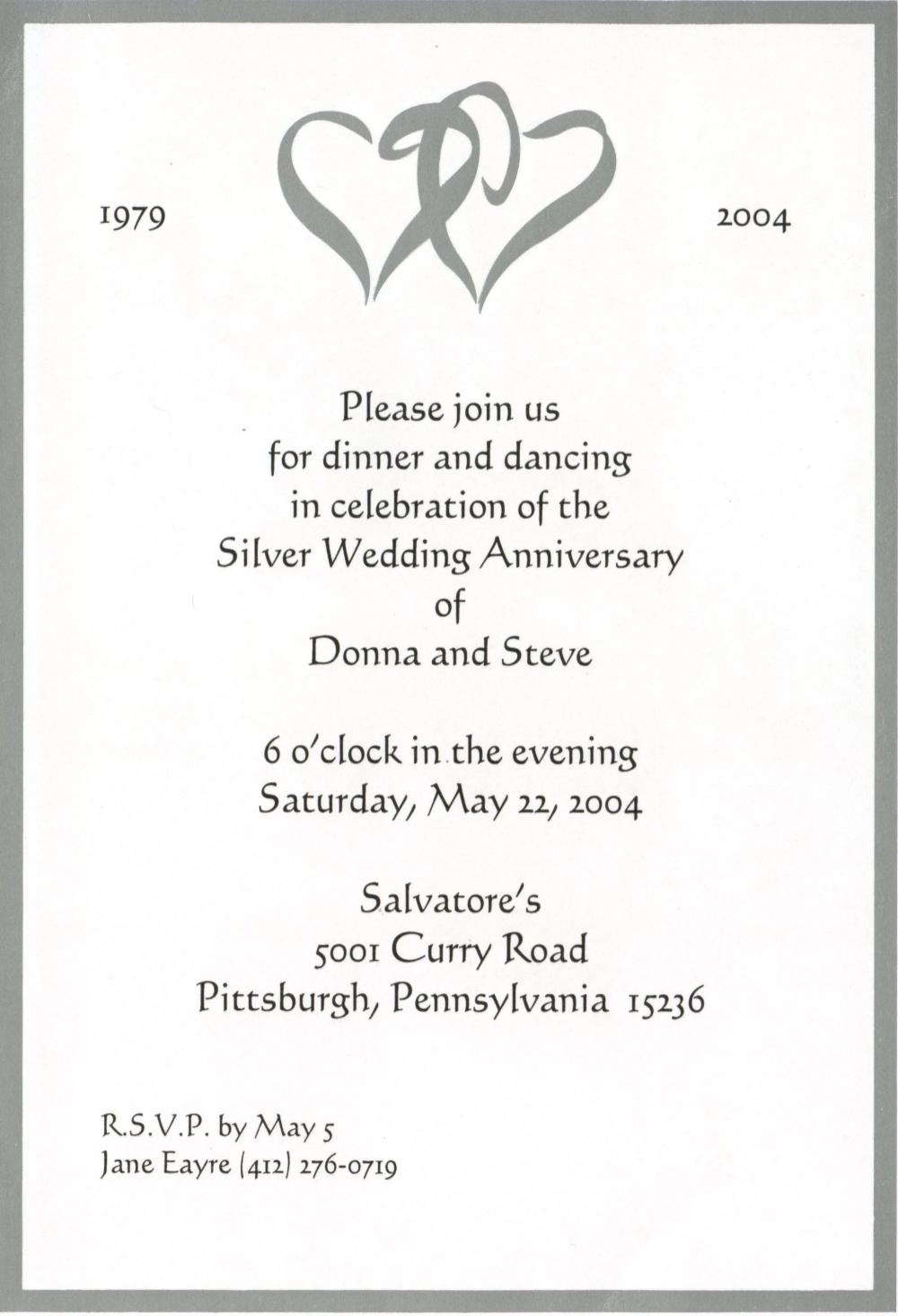 Anniversary Invitation Wedding Invitations Cards Wording Card Invitation Templates Kartu Undangan Pernikahan Undangan Pesta Pernikahan Perayaan Pernikahan