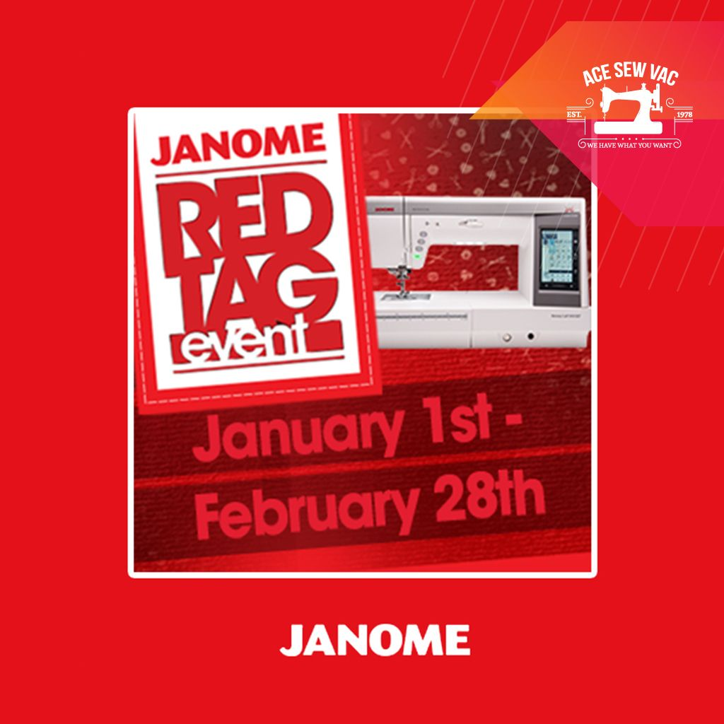 You Re Going To Love This Sale Don T Miss Janome Red