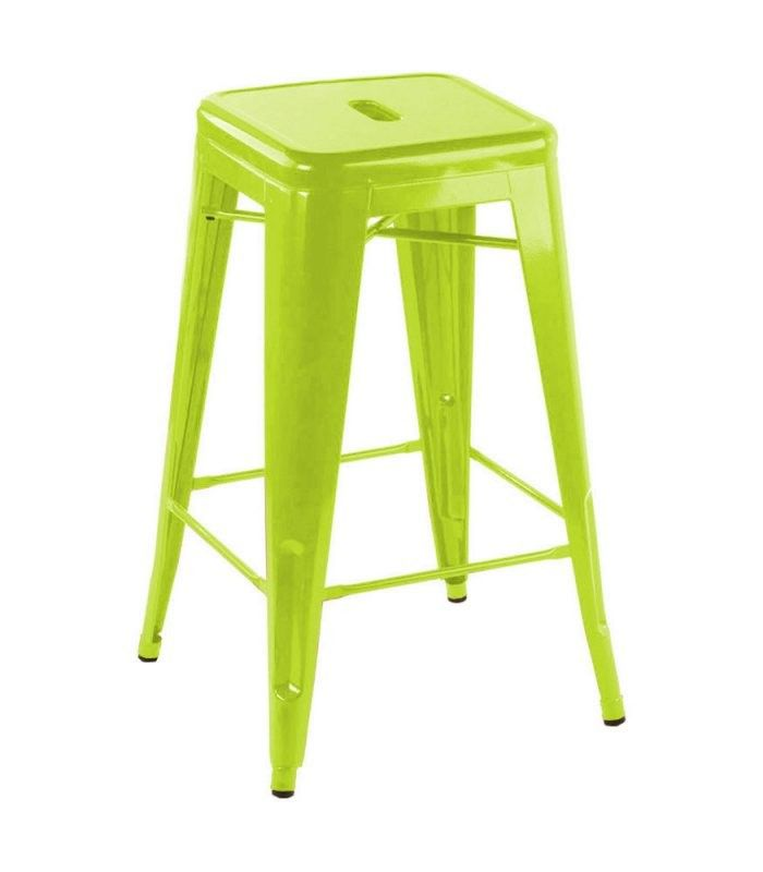 This T 5046 Modern Lime Green Metal Bar Stool Is A Sleek Looking Seat And Will Be Nice Addition