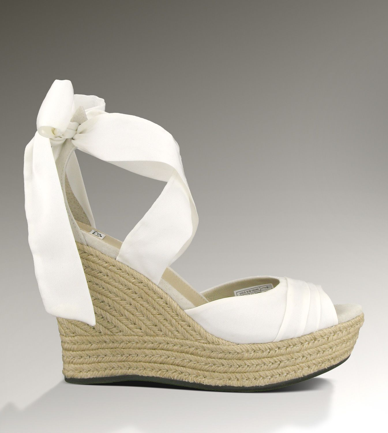 90099104e7c RECRUITMENT: UGG® Lucianna for Women - White | Espadrille Wedge ...