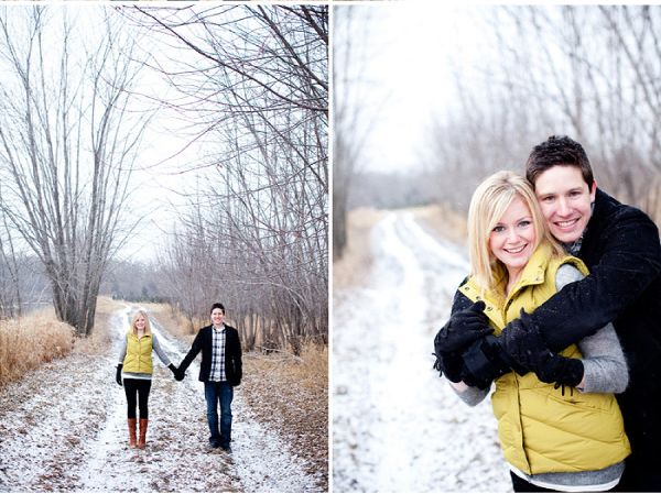 Cold Weather Engagement Photos Your Outfit Guide | Engagement Winter engagement and Engagement ...