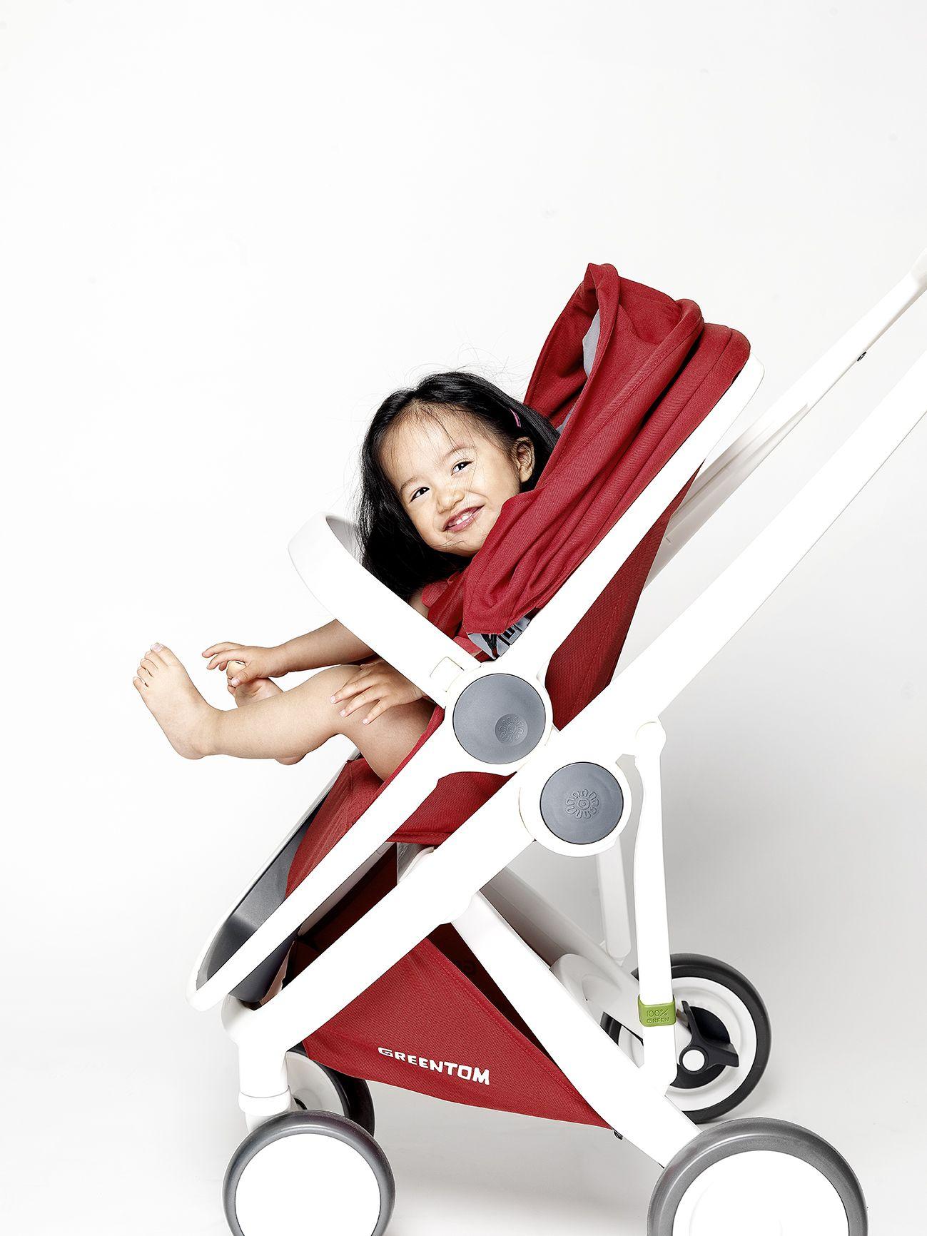Greentom Reversible White Red Reverse, Baby strollers