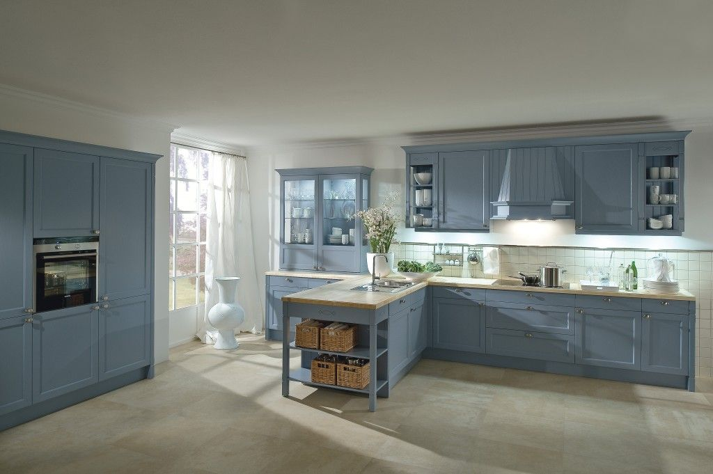 Häcker Classic/Art Bristol Essenhout Agaatblauw Gelakt   Grando Keukens U0026  Bad Zaandam · Kitchen DesignsKitchen ... Part 48